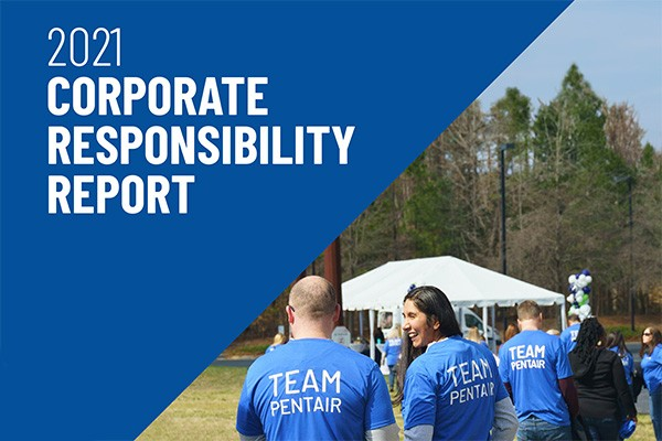 Corporate Responsibility Report Cover image