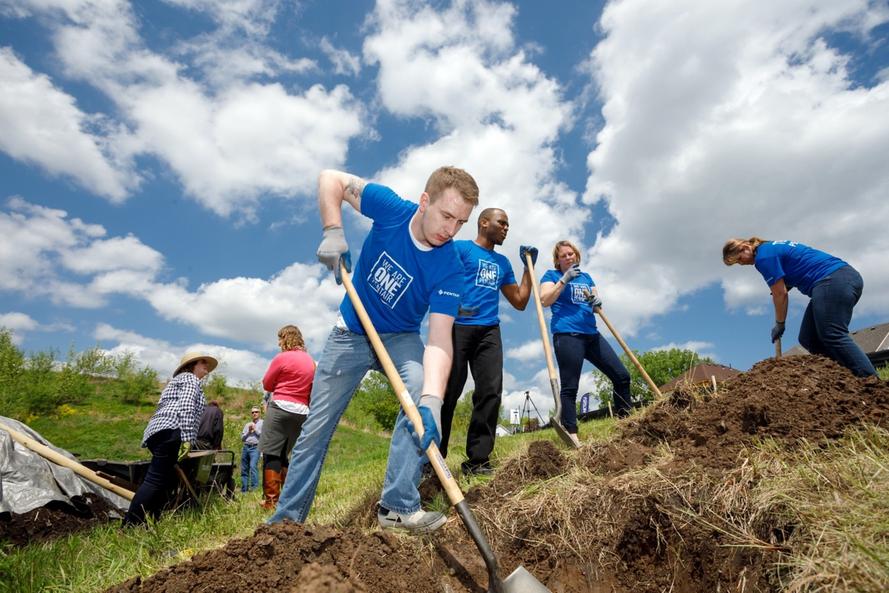 Team Pentair Tree Planting photo