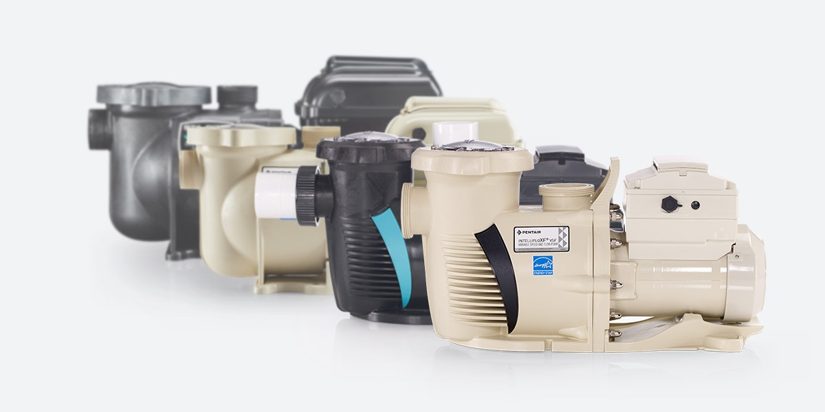 Collection of pool pumps
