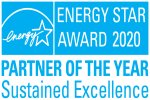 Energy Star Partner of the Year in Sustained Excellence 2020 logo