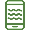 water in phone icon