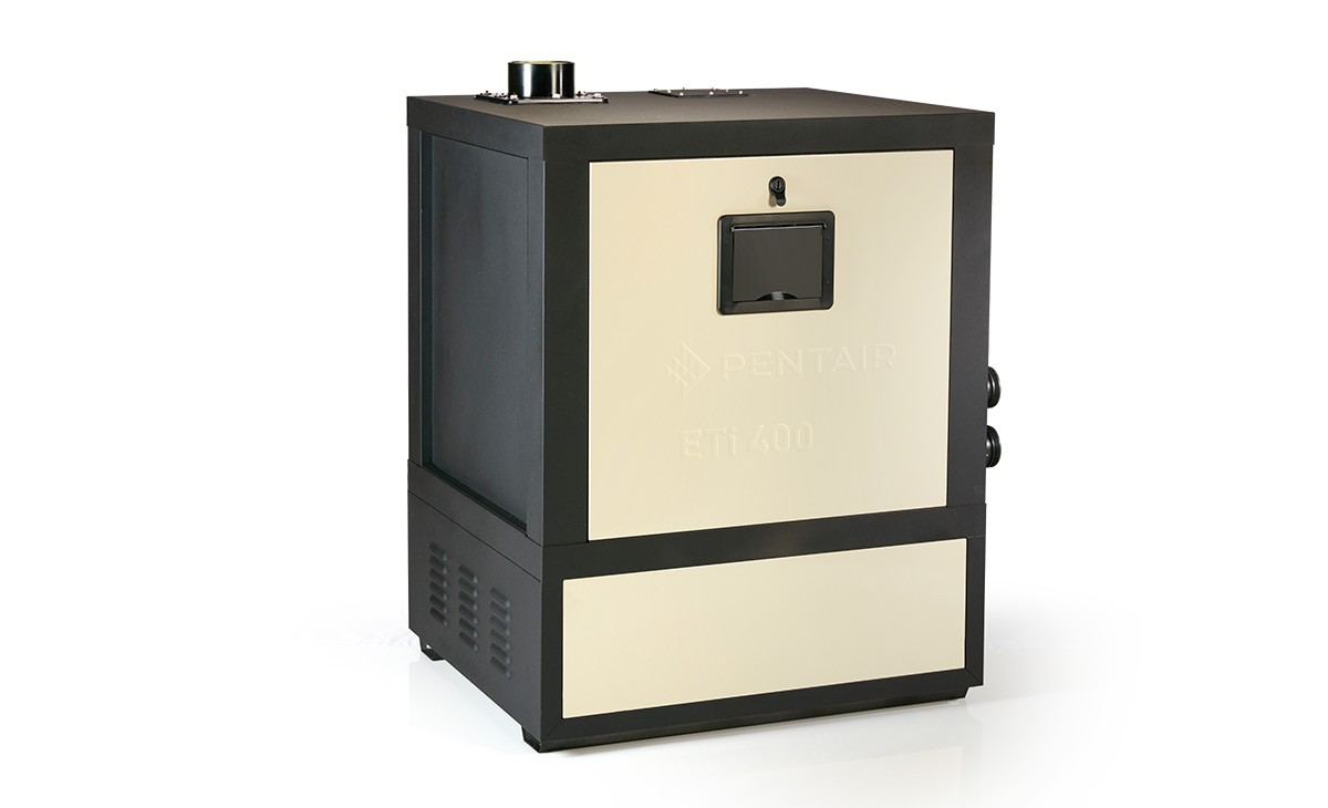 ETi 400 High Efficiency Gas Heater Side View