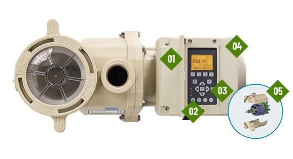 Pentair IntelliFlo 2 VST variable speed pool pump features components for ease of use.